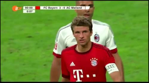 Thomas Müller – Bayern v AC Milan 2