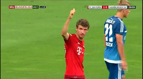 Thomas Müller – Bayern v HSV 1