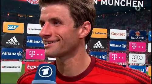 Thomas Müller – Bayern v HSV 10