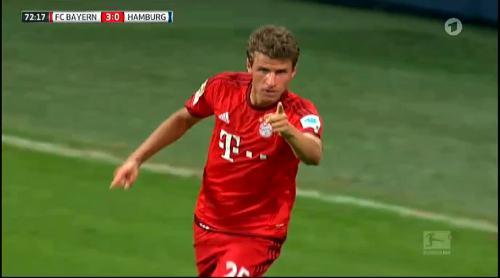 Thomas Müller – Bayern v HSV 2