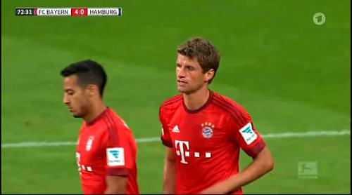 Thomas Müller – Bayern v HSV 4