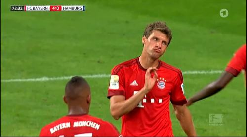 Thomas Müller – Bayern v HSV 5