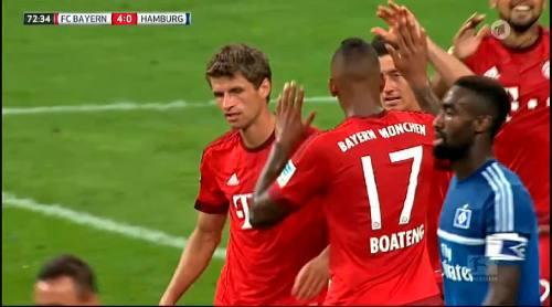 Thomas Müller – Bayern v HSV 6