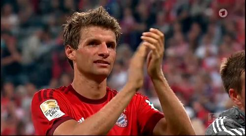 Thomas Müller – Bayern v HSV 8