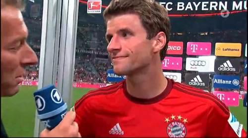 Thomas Müller – Bayern v HSV 9