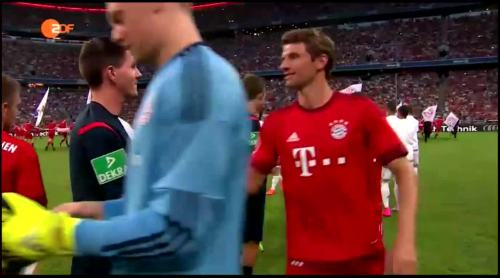 Thomas Müller – FCB v Real Madrid 1