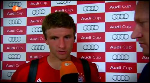 Thomas Müller – pre-match interview 1