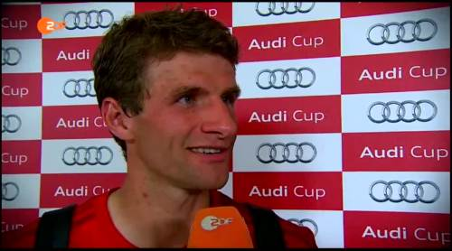 Thomas Müller – pre-match interview 2