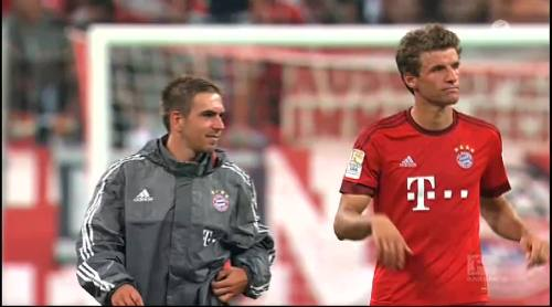 Thomas Müller & Philipp Lahm – Bayern v HSV 2