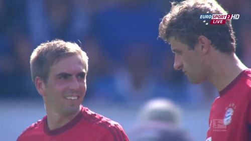 Thomas Müller & Philipp Lahm – TSG v FCB 3