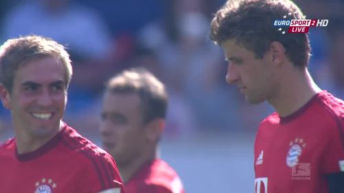 Thomas Müller & Philipp Lahm – TSG v FCB 4