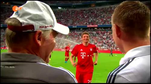 Thomas Müller & Toni Kroos – FCB v Real Madrid 1