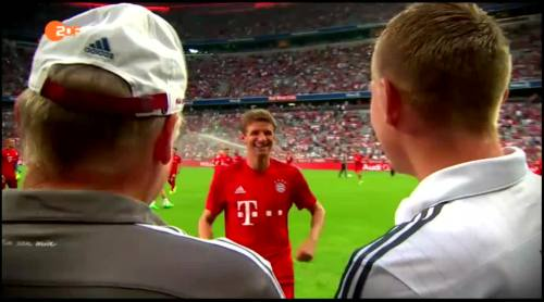 Thomas Müller & Toni Kroos – FCB v Real Madrid 2