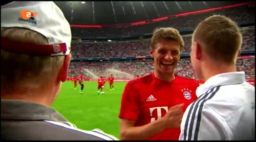 Thomas Müller & Toni Kroos – FCB v Real Madrid 4