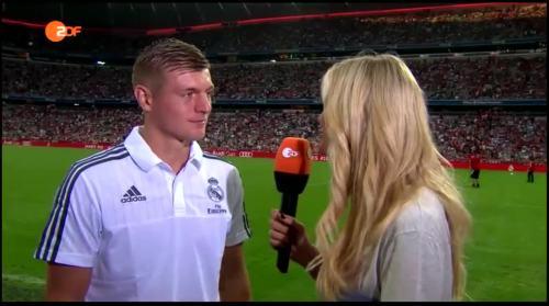 Toni Kroos – post-match interview – Real Madrid v Spurs 1