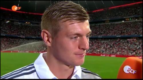 Toni Kroos – post-match interview – Real Madrid v Spurs 2