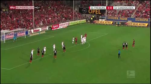 Vincenzo Grifo - second goal - SC Freiburg v SV Sandhausen 1
