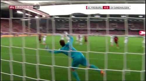 Vincenzo Grifo - second goal - SC Freiburg v SV Sandhausen 10