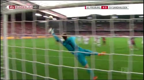 Vincenzo Grifo - second goal - SC Freiburg v SV Sandhausen 11