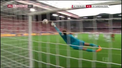 Vincenzo Grifo - second goal - SC Freiburg v SV Sandhausen 12