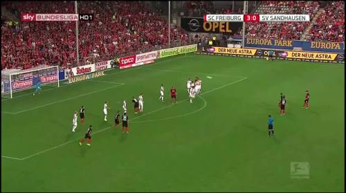 Vincenzo Grifo - second goal - SC Freiburg v SV Sandhausen 2