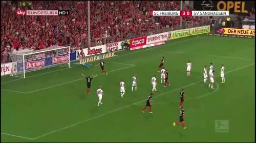 Vincenzo Grifo - second goal - SC Freiburg v SV Sandhausen 5