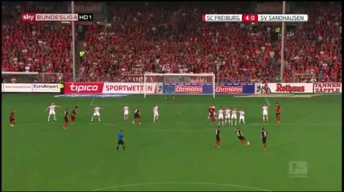Vincenzo Grifo - second goal - SC Freiburg v SV Sandhausen 6