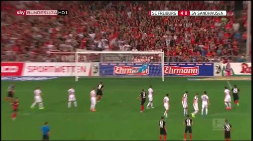 Vincenzo Grifo - second goal - SC Freiburg v SV Sandhausen 8