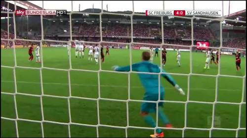 Vincenzo Grifo - second goal - SC Freiburg v SV Sandhausen 9