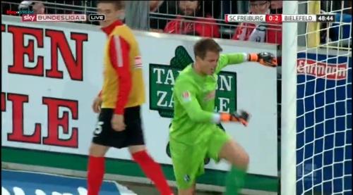 Alexander Schowlow - SC Freiburg v Arminia Bielefeld 7