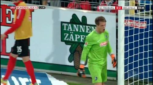 Alexander Schowlow - SC Freiburg v Arminia Bielefeld 8