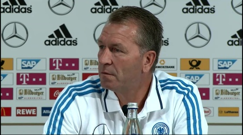 Andreas Köpke - Pressekonferenz 1