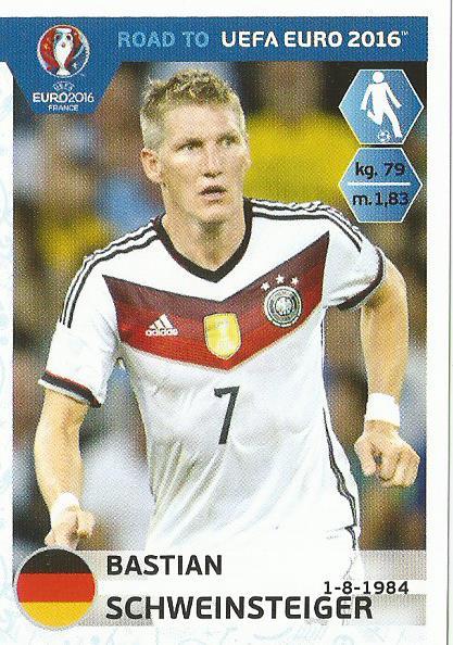 Bastian Schweinsteiger – Germany - Road to Euro 2016