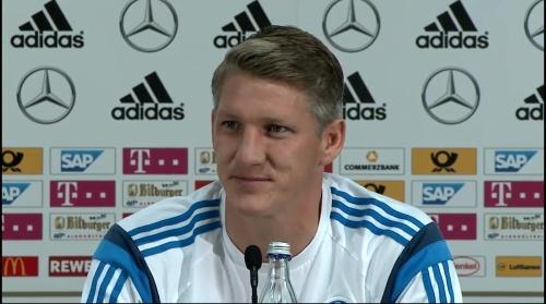 Bastian Schweinsteiger - Pressekonferenz 3