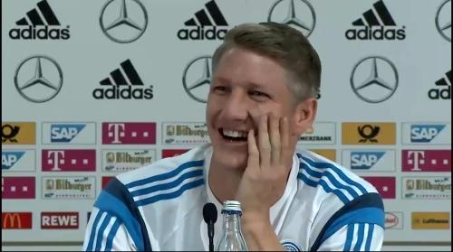 Bastian Schweinsteiger - Pressekonferenz 5