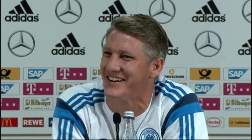Bastian Schweinsteiger - Pressekonferenz 7