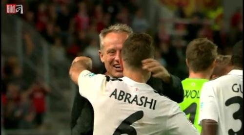 Christian Streich & Amir Abrashi - 1.FCK v SC Freiburg