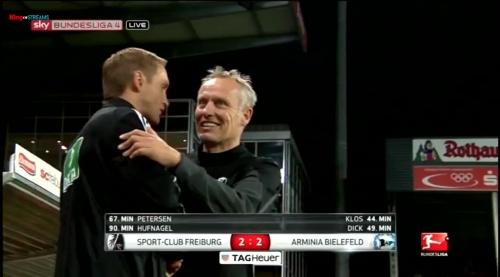 Christian Streich - SC Freiburg v Arminia Bielefeld 1