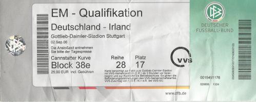 Deutschland-Irland - EM 2008 Qualifikation