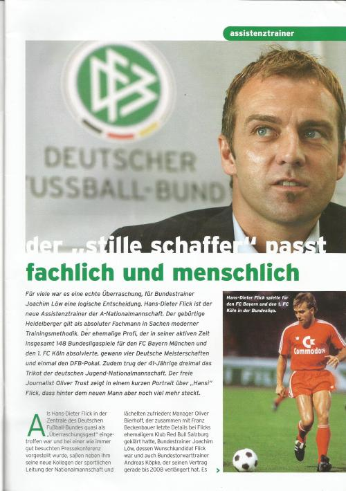 Deutschland-Irland - program - Hansi Flick 1
