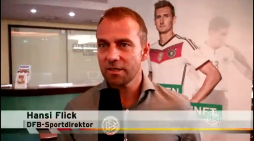 Hansi Flick interview 1
