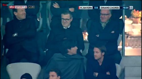 Joachim Löw at FC Bayern München v Dynamo Zagreb 1