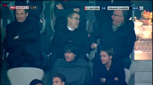 Joachim Löw at FC Bayern München v Dynamo Zagreb 2