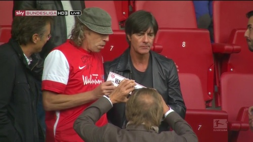 Joachim Löw at Mainz 05 v FC Bayern München 2