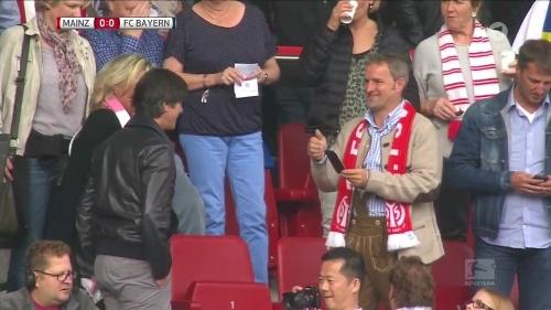 Joachim Löw at Mainz 05 v FC Bayern München 4