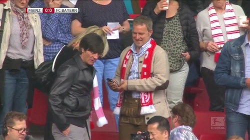 Joachim Löw at Mainz 05 v FC Bayern München 5