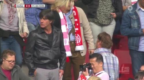 Joachim Löw at Mainz 05 v FC Bayern München 6