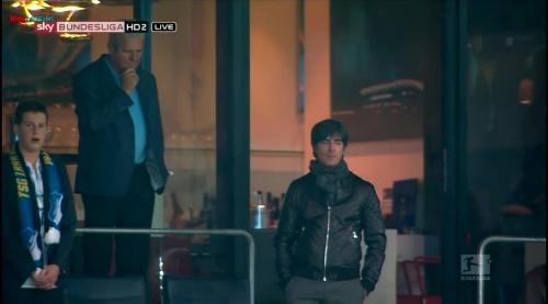 Joachim Löw at TSG Hoffenheim v Borussia Dortmund 2
