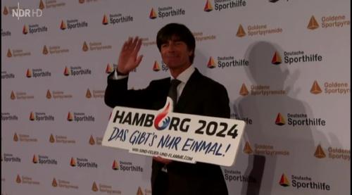 Joachim Löw – Goldene Sportpyramide – NDR 11