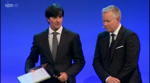 Joachim Löw – Goldene Sportpyramide – NDR 9